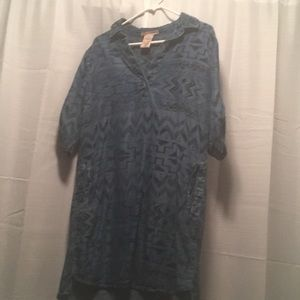 Aztec Blue Philosophy Jean Dress Medium Loose Fit